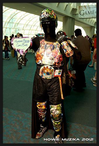 San Diego Comic-Con 2012 HUMAN BEING COMIC BOOK