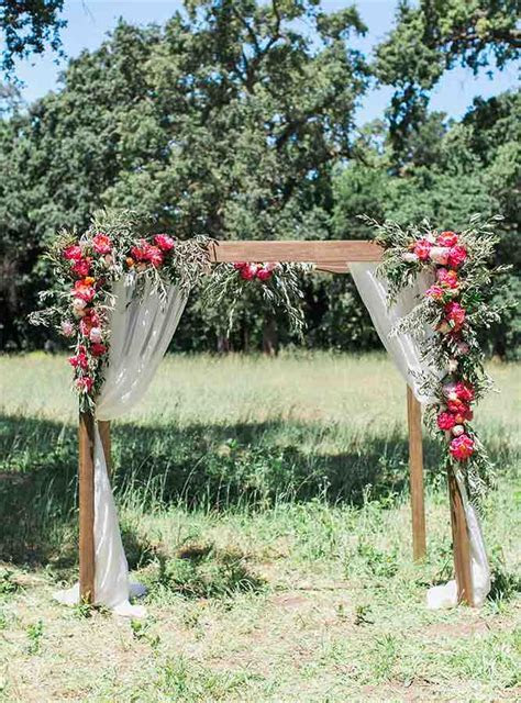Top 12 Wedding Ceremony Arches With Flowers ? the bohemian