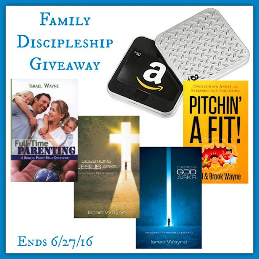 Family Discipleship Giveaway! ($100+ in resources) - Proverbial Homemaker