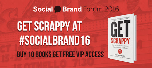 Order Get Scrappy and Get 2 FREE VIP Passes to #SocialBrand16 - Brand Driven Digital