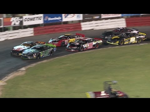 Taylor Robbins wins 3rd race at Bowman Gray - Derrick Rice Champion in Street Stock Division