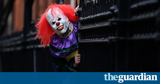 'Killer clown' sightings in UK trigger police warning | UK news | The Guardian