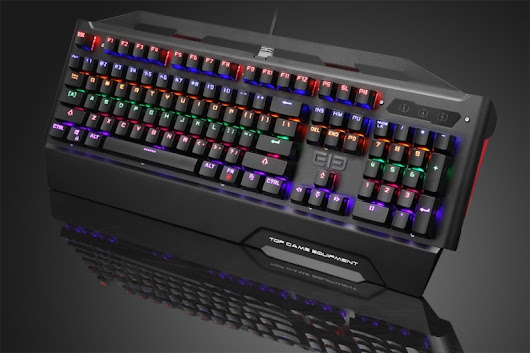 EleEnterGame2 is a Second Mechanical Keyboard from Elephone • GizmoGeek.xyz