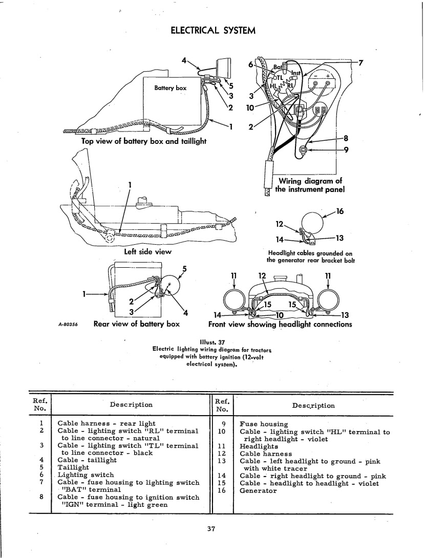 Farmall Cub Tractor Wiring Diagram For 1951 Wiring Diagram Camaro Camaro Graniantichiumbri It