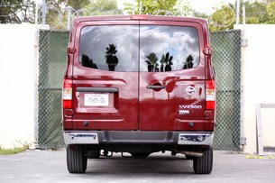 2012 Nissan NV rear view