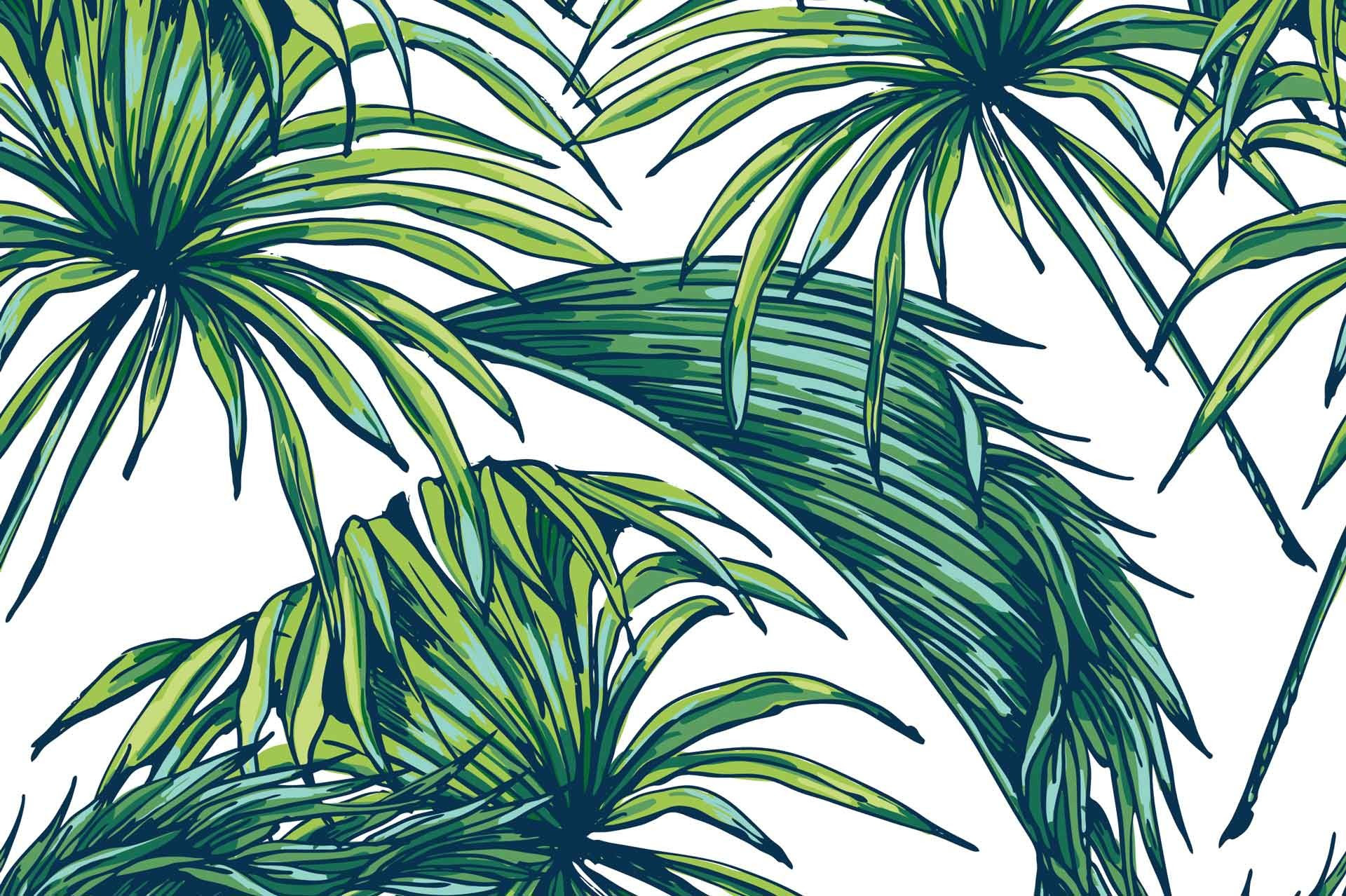 Palm Leaves Wallpaper (37+ images)