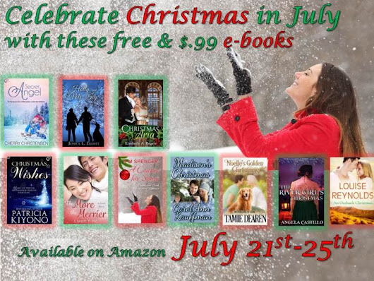 Christmas in July – Book Sale – July 21-25