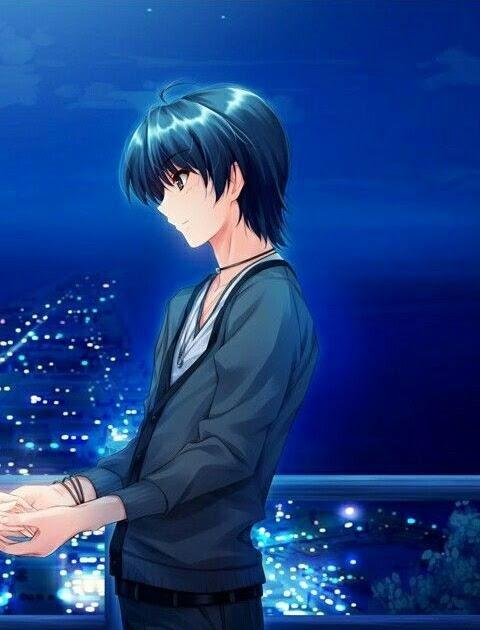 Foto Profil Couple Anime Terpisah - fotos de perfil sad