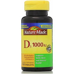 Nature Made Vitamin D 1000 IU Tablets 100 ea by Pharmapacks