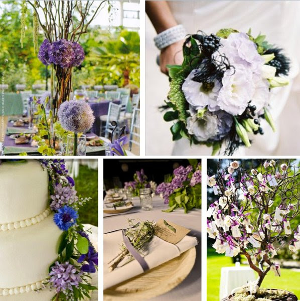 <b>Centerpieces:</b> Isn't That Gorgeous! Wedding and Event Flowers <br> <b>Bouquet:</b> Green Apple Weddings & Events <br> <b>Place Setting:</b> poppies & posies floral and event design  <br> <b>Cake:</b> Happy Heart Photography, LLC <br> <b>Guest Book Tree:</b> Tealight Weddings & Events