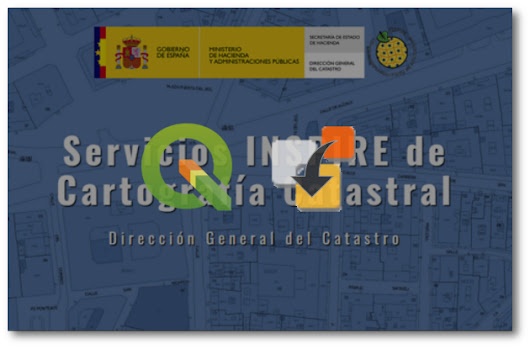Spanish Inspire Catastral Downloader. Plugin de QGIS para descarga de datos catastrales INSPIRE