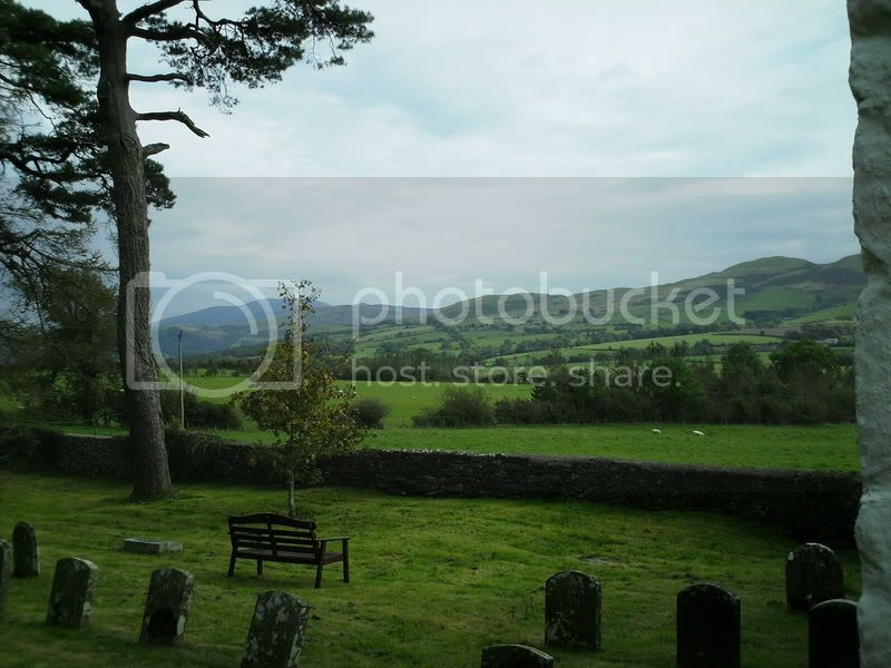A view from the Burial Ground