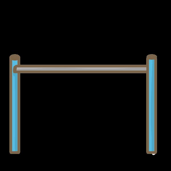 鉄棒のイラスト かわいいフリー素材が無料のイラストレイン