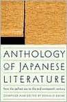 Anthology of Japanese Literature: From the Earliest Era to the Mid-Nineteenth Century