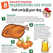 Thanksgiving Day Foods That Can Kill Your Dog
