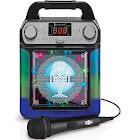 Singing Machine Groove Cube Mini Karaoke Machine - Black