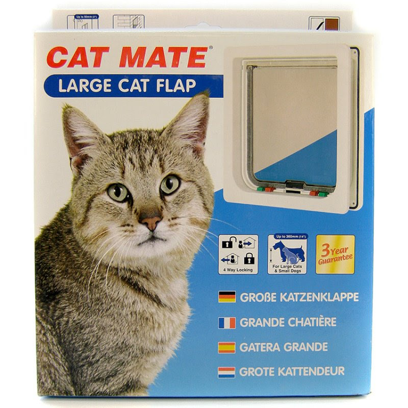 Cat Mate Large Cat Flap For Large Cats Or Small Dogs Portobello Pets