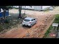 """Vídeo: """"Tigrão"""" nega participação em sequestro, mas câmeras flagram veículo preso com ele, na cena do crime"""