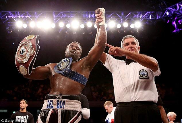 Title: Del Boy beat Edmund Gerber at the Copper Box