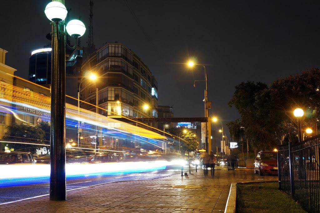 Una noche en Miraflores. Lima, Perú.