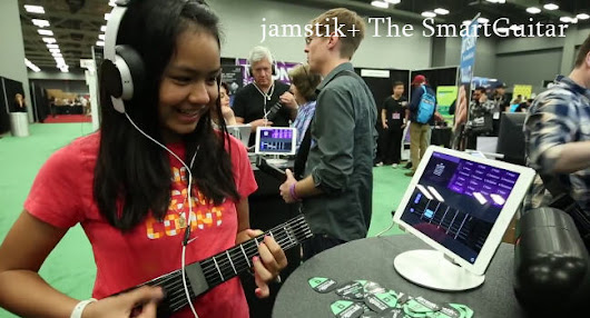 The Jamstik+: create your own music easily