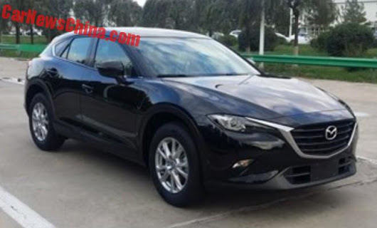 Newest Mazda On The Block Goes To China. Hello CX-4?
