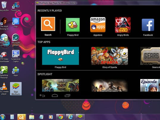 Bluestacks App Player - a