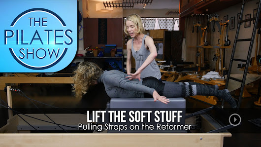 Lift the Soft Stuff Pulling Straps on the Reformer