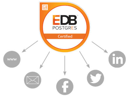 Certification Digital Badges | EnterpriseDB