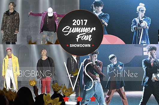 BIGBANG vs. SHINee: 2017 Summer Fan Showdown [Semi-Finals]