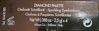 Diamond Palette PUPA