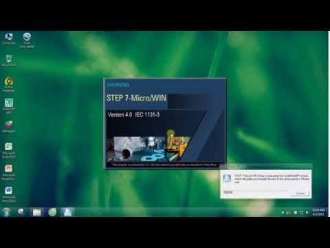 Phần mềm PLC S7 200