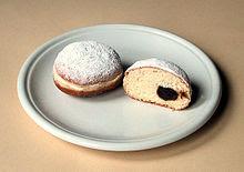 http://en.wikipedia.org/wiki/Berliner_%28doughnut%29