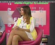 Marta Viveiros sensual a apresentar o Flash Vidas