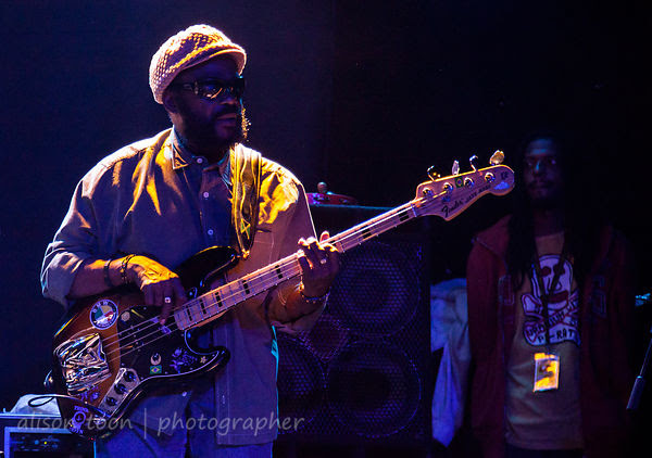 "Aston ""Family Man"" Barrett, bass, The Wailers. Ace of Spades, Sacramento, 2013"