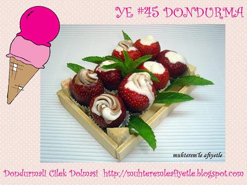 Dondurmali Cilek Dolmasi - Muhteremle Afiyetle
