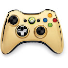 Microsoft Special Edition Chrome Series 2.4 GHz Wireless Controller for Xbox 360 - Gold