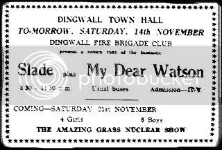 14th November 1970, Dingwall Town Hall small, Ross Shire News Friday 13th November 1970