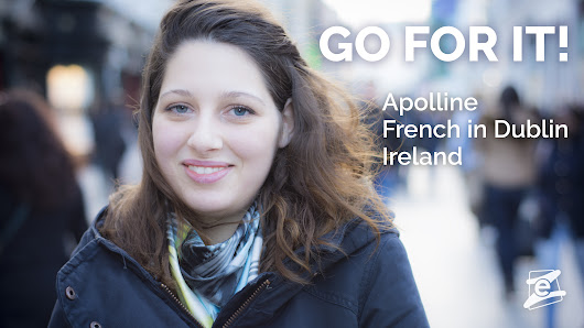 GO FOR IT, Apolline! Learn English abroad.