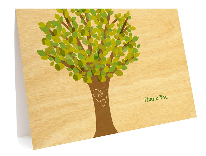 http://nightowlpapergoods.com/personalized-wedding-thank-you-cards/leafy-tree-folded-paper-thank-you-card/?personalize=y