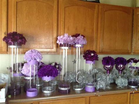 Purple Wedding Decorations   Tradesy Weddings