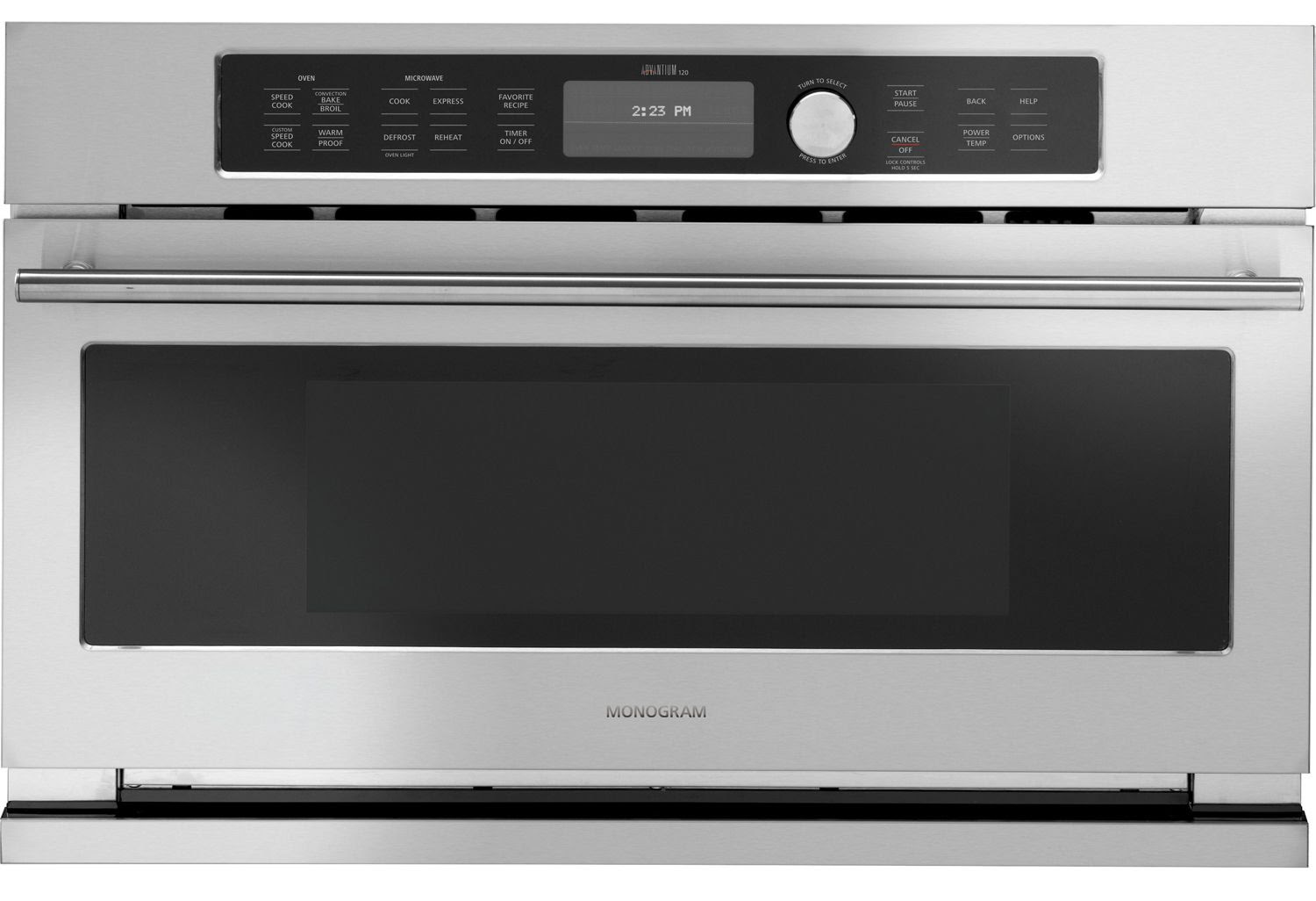 """GE Monogram 30"""" Built-In Electric Oven - ZSC1201JSS"""