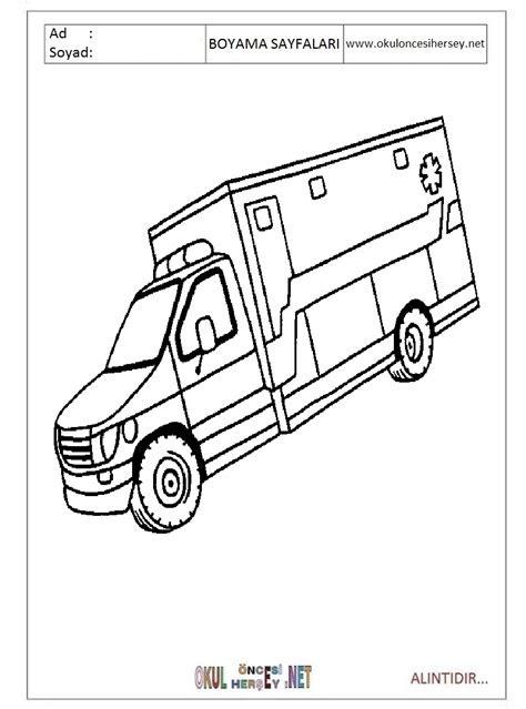 ambulans boyama resmi gazetesujin