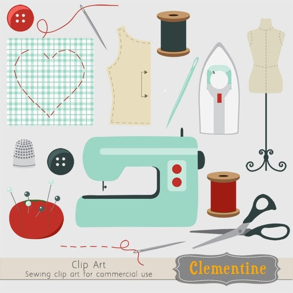sewing needle free clip art