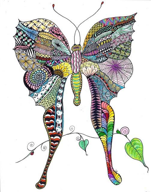 Zen-Butterfly