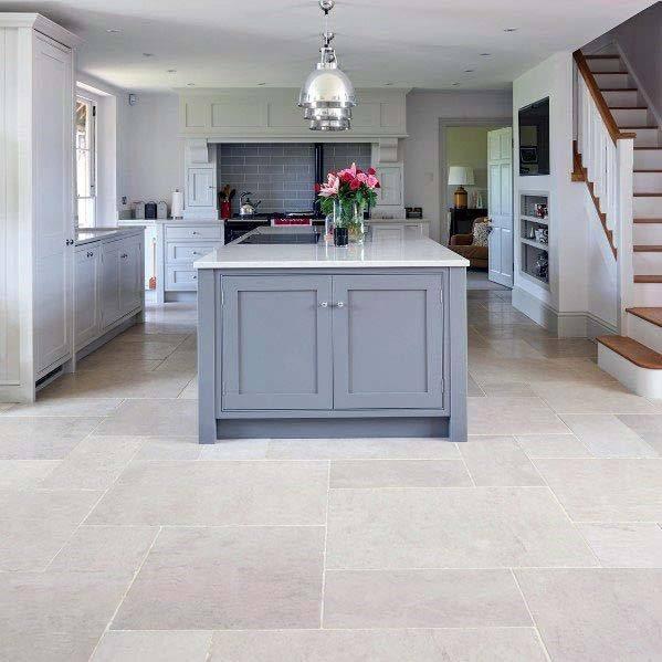 Small Kitchen Floor Tiles Design