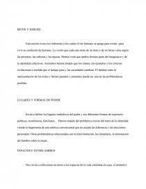Exemple Synthèse Espagnol Espacios E Intercambios ...