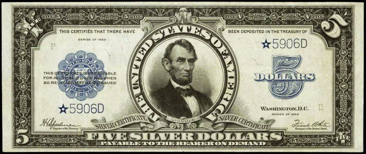 25 Best Images About Silver Certificate On Pinterest Us