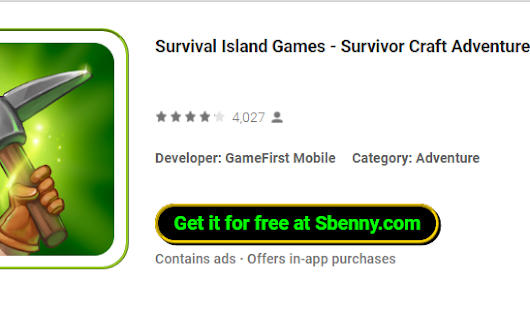 Survival Island Games - Survivor Craft Adventure + MOD