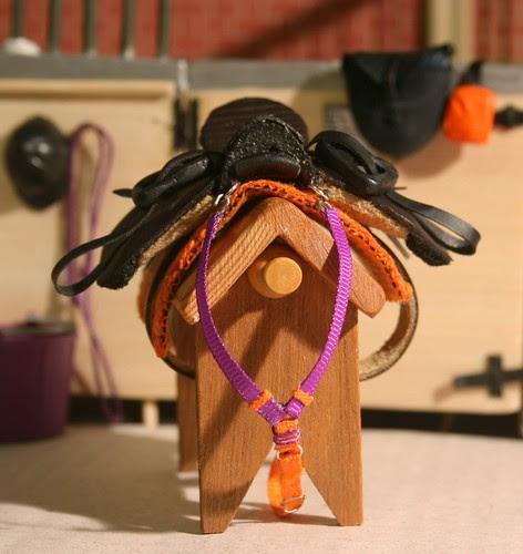 Fanta's saddle and breastcollar.